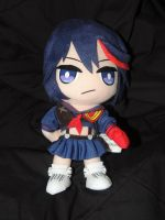 Ryuko School Outfit Plush by HannahDoma