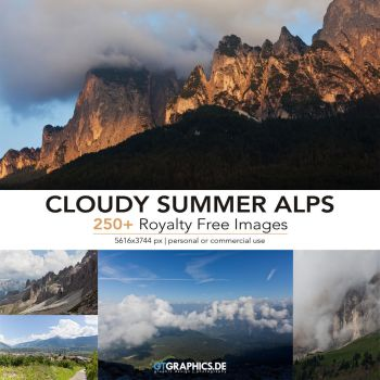 Cloudy Summer Alps Reference Pack by TobiasRoetsch
