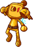 Golden Vic Viper by DoomsdayGroxy
