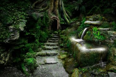 Entrance to Rivendell by ArwensGrace