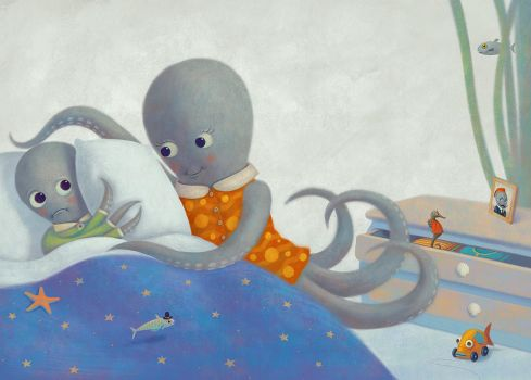 Good morning, little octopus by Aguaplano