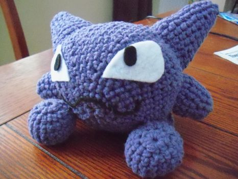 PKM:  Haunter Crochet Plush by secret-spy-guy