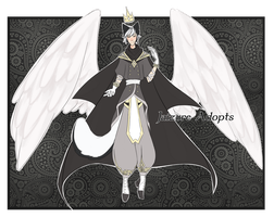 Adoptable13 Monochrome prince CLOSED by Jaizure