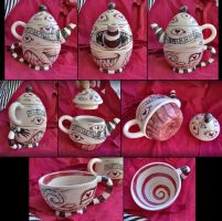 Monster Teapot 3 by bezzalair