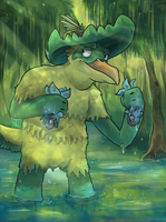 Bri the Ludicolo by Srarlight