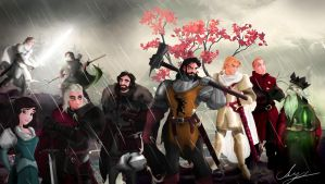 The War of the Usurper by Mike-Hallstein