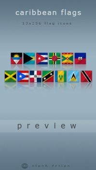 Caribbean Flags by alpak