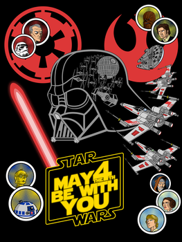 May 4th t-shirt by Vic-Neko