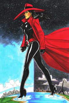 Carmen Sandiego by Hodges-Art