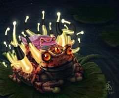 Mid Autumn Toad by iancjw