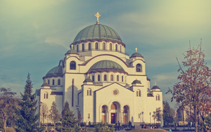 Cathedral of Saint Sava by Grazzhopper96
