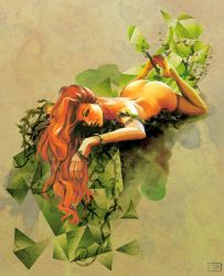 Poison Ivy Awaits by brainleakage