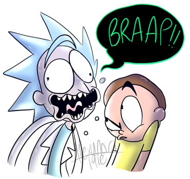 Excuse You, Rick by AlexandraTale