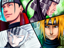 Hokages (collab) by Adriano-Arts