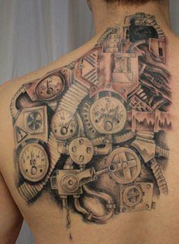 Instrument panel Tattoo  TaT by 2Face-Tattoo