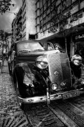 Ermou Str. Athens antique HDR by Piddling