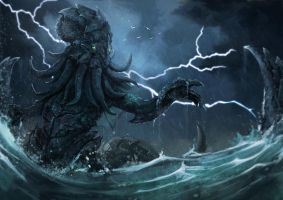 Cthulhu by JustMick