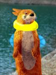 The REAL Buizel: OMG by Wavestorm101