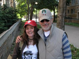 With Steven Spielberg by elodie50a