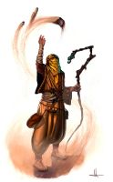 Desert mage by Jelux09