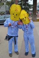 Bananas in Pyjamas by EddieMW