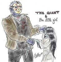 The giant and the little girl by anemchan41191