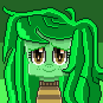 Wallflower Blush (pixel art) by SuperHyperSonic2000