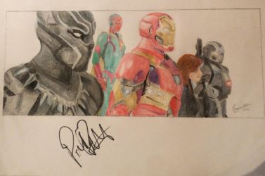 Team Iron Man (Signed drawing) by meerkat--love