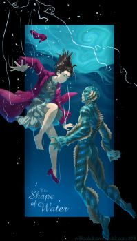 The Shape of Water by Wilkoak