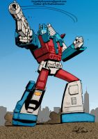 Colours on Geoff Senior's Ultra Magnus by hellbat