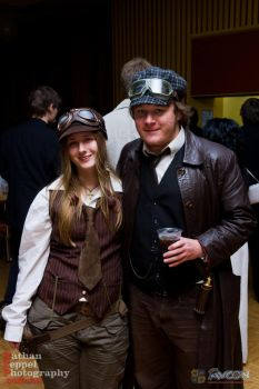 Steampunk Formal by Splicer02