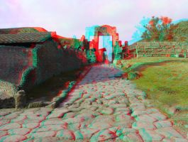 Pompei 27 3D Anaglyph by yellowishhaze