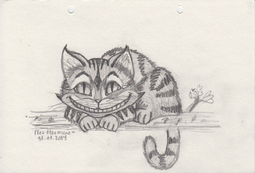 Cheshire cat by lilianadc