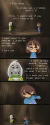 [Spoilers!] Undertale - Comfort by TC-96