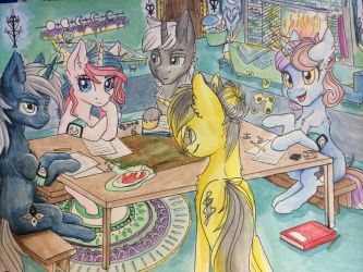 Tempest's Evening with Friends by Tillie-TMB