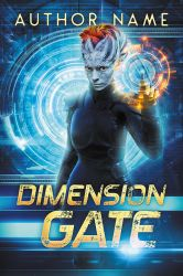 Dimension Gate - premade book cover - SOLD by LHarper