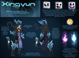 Xingyun - reference sheet by Timbernator