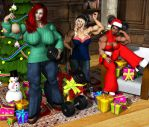 A Six-Pack for Christmas by Odie1049