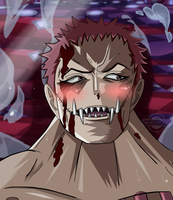 One Piece Chapter 902 Katakuri Brulee Smile Colors by Amanomoon
