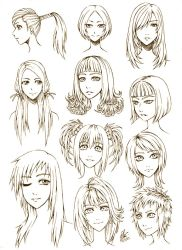 Female Hair Style by FullMeTalAof
