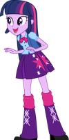 Twilight Sparkle EqG by PaulySentry