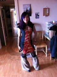 Qipao 02 (Mah going to a wedding dress!) by odevisky
