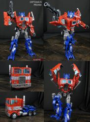G1 movie style Optimus Prime AoE voyager figure by Jin-Saotome