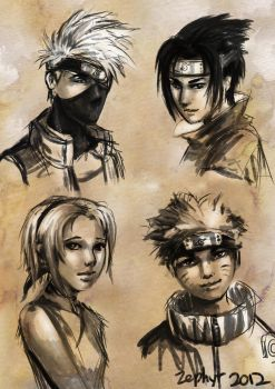 Remember the Old Team 7 by Keyade