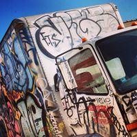 Tag Truck by piratesofbrooklyn