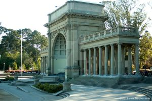 Building in Golden Gate Park stock image 001 by NoirArt