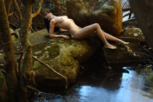 jungle pool pose by andre-j