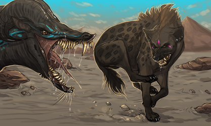 Pookie Vs Beast (concept) by SquishyMew