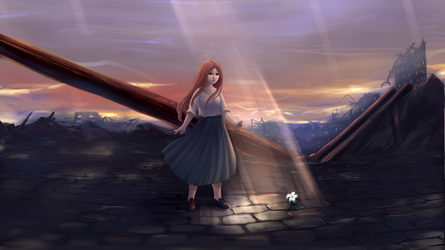 Void of hope + speedpaint by MilanaMill