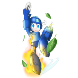 Super SmashBros Ultimate Collab entry: Megaman by Soulment